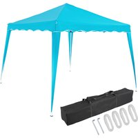 Pavilion 3x3m UV Protection 50+ Waterproof Foldable incl. Bag Folding Pavilion Capri Party Tent Garden Pop Up Tent Light Blue