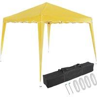 Pavilion 3x3m UV Protection 50+ Waterproof Foldable incl. Bag Folding Pavilion Capri Party Tent Garden Pop Up Tent Yellow