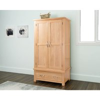 Papaya - Sienna Double Wardrobe with Drawer