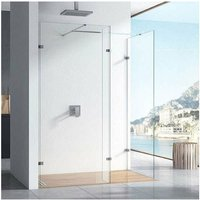 10mm Walk-In Shower Enclosure with Deflector Panel 1400mm x 700mm (760mm+700mm) - Orbit