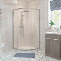 Signature Classix Single Door Quadrant Shower Enclosure 900mm x 900mm - 6mm Glass
