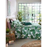 Skinny Dip Double Duvet Cover Set, Dominica Teal, Bed Quilt Set