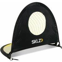 Precision Pop-Up Soccer Goal 122x91.4 cm Black - Black -