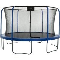 Upper Bounce - Skytric 11 FT. Large Trampoline with Top Ring Enclosure Set Equipped with Easy Assembly Feature | Garden and Outdoor Trampoline with