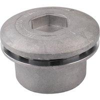 Asupermall - Smooth Cilindrico Di Alluminio Universale Trimmer Trimmer A High Grass Trimmer Accessori Tagliabordi Con 4