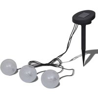 Solar Bowl 3 LED Floating Ball Light for Pond Swimming Pool QAH26281 - HOMMOO