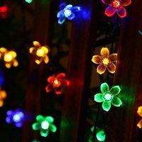Briday - Solar Flower String Lights Outdoor Waterproof 50