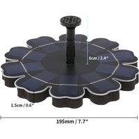 Solar Fountain Pump QR-0525 Black