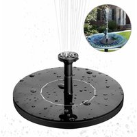 Solar Fountain Solar Water Pump 1.4W Monocrystalline Solar Floating Fountain Easy to Use Solar Fountain Pump for Garden Patio Birds Pond Pool and