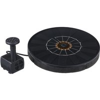 Solar Powered Energy Fountain Pump Kit Water Pump Set with DIY Fountain Pump, type 2 - ASUPERMALL