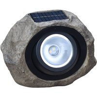 Solar Powered Lamp Simulation Stone Lawn Light Outdoor Water-resistant Landscape Lighting for Garden Yard Patio Pathway - ASUPERMALL