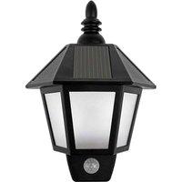 Solar Powered Motion Sensor Wall Lights Outdoor Security Sconces LED Lantern Lamp for Garden Patio Patio