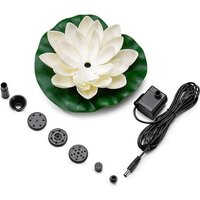Solar powered water fountain - Floating panel - Solar fountain for pond or garden decoration