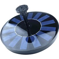 Asupermall - Solar Powered Water Pump 1.7W Solar Panel