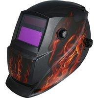 Solar Powered Welding Helmet Auto Darkening Hood Adjustable Headband for MIG TIG Arc Welder Mask Electric Welding Mask - ASUPERMALL