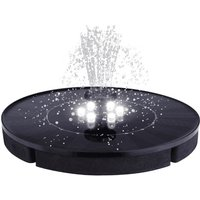 Solar Pump Decoration Pond LED Floating Fountain Pool - AUGIENB