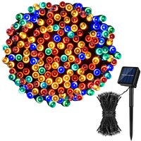 Solar String Lights 50 LED/8 Modes Waterproof Outdoor Fairy