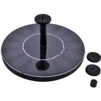 Solar Water Fountain Pump with Different Nozzles 1.4W Solar