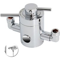 Solid Brass Thermostatic Control Shower Valve for Mixer Shower UK