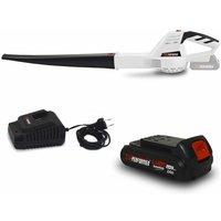 Souffleur rechargeable à batterie - X-Performer XPSE20LI - Vitesse air max : 200 km-h - Batterie 2 Ah et chargeur