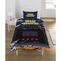 Space Invaders Coin Op Duvet Set (Single) (Multicoloured)