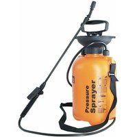 Partenopea - Spruzzatore a pressione pompa a spalla con fascia spruzzino per giardinaggio 5LT