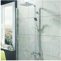 Square Complete Shower Valve and Kit by Voda Design