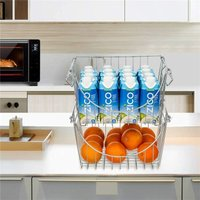 Stackable Wire Basket Bin Stacking Wire Baskets for Home Kit