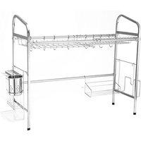 Stainless Steel Kitchen Storage Dish Rack 70cm