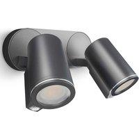 Outdoor Sensor Spotlight Spot Duo Sensor Black - Black - Steinel