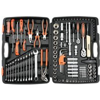 Sthor 122 Piece Tool Set Metal 58690