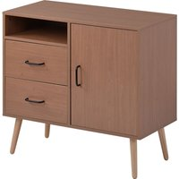 Storage cabinet with 2 drawers and one door, Sideboard for entryway hallway living room, Kitchen Cupboard
