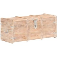 vidaXL Storage Chest 90x40x40 cm Solid Acacia Wood