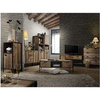 Timber Art Design Uk - Stretton Living Room Furniture Set TV Unit Coffee Table 3 Drawer Sideboard