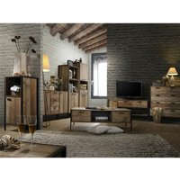 Timber Art Design Uk - Stretton Living Room Furniture Set TV Unit Coffee Table Sideboard Rustic