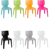 Sturdy plastic chair TURQUOISE - MERCATOXL