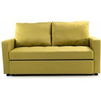 Stylish and Comfortable 2 Seater Sofa Bed - Lime
