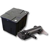Wiltec - SunSun Kit de filtration de bassin 12000l 18W UVC 3. Stérilisateur