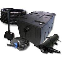 Wiltec - SunSun Set per il filtro 60000l 36W Depuratore per stagni 40W Pompa 25m Tubo Fontana