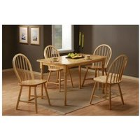 Sutra Wood Table 4 Chairs