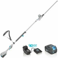 (bare tool) 40V Cordless EB918D battery Pole Hedge Trimmer - Swift