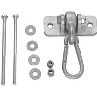 Swingan - Heavy-Duty Metal Swing Hanger and Snap Hook   Carabiner for Timber Climbing Frame and Wooden Beam