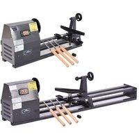 SwitZer Wood Turning Lathe With Tool Set SZ-WL01 Grey