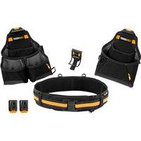 ToughBuilt TB-CT-102-4 Builder Tool Belt Set 4 Piece