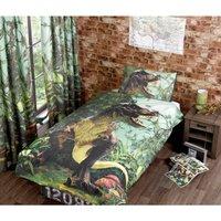 Rapport - T Rex Single Duvet Cover Set Bedding Quilt Dinosaur