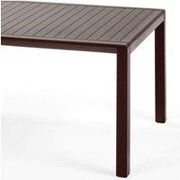 Table basse salon de jardin & terrasse Aria 100x60 par Café - Extérieur - Patins antidérapants - Café - Nardi