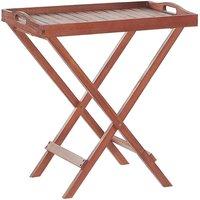 Beliani - Table de terrasse ou jardin en bois foncé TOSCANA