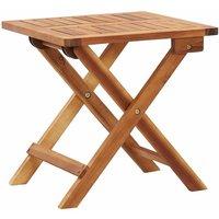Table pliable de jardin 40x40x40 cm Bois d'acacia massif