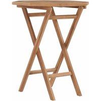 Youthup - Table pliable de jardin 60x60x75 cm Bois de teck solide