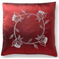 Tahiti 18 Burgundy Cushion Cover Bed Sofa Accessory Unfilled